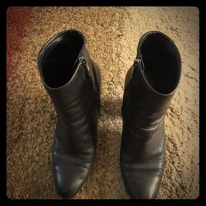 Authentic PRADA leather ankle boots 8.5